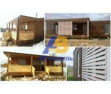 Модульный дом по технологии PREFAB 20 м2