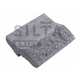 Камень навесной лицевой Силта-Брик Серый 14 200х150х65 мм