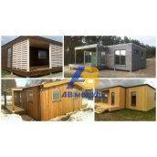Утеплений модульний будинок за технологією Prefab 75 м2