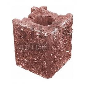 Камень навесной угловой Силта-Брик Элит 24 129х150х129 мм