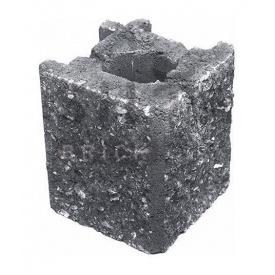 Камень навесной угловой Силта-Брик Элит 0-2 129х150х129 мм