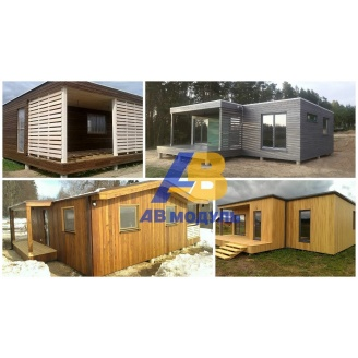 Утеплённый модульный дом по технологии Prefab 75 м2