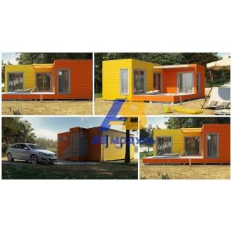 Всесезонный модульный дом по технологии Prefab 55 м2
