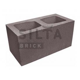 Блок гладкий Сілта-Брік Кольоровий 34 широкий 390х190х190 мм