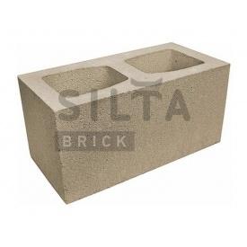 Блок гладкий Силта-Брик Элит 38 широкий 390х190х190 мм