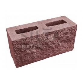 Блок декоративный Силта-Брик Цветной 24-2 390х190х140 мм