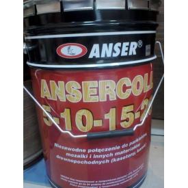 Клей паркетний каучуковий Ansercoll 5-10-15-20 23 кг