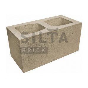 Блок гладкий Сілта-Брік Еліт 38 широкий 390х190х190 мм