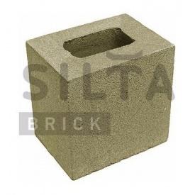 Полублок гладкий Силта-Брик Цветной 25-4 190х190х140 мм