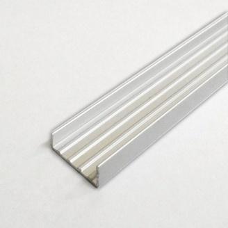 Алюминиевый торцовочный профиль AS 18,5x8 мм