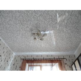 Декоративна плівка для натяжної стелі 0,17 мм з фотодруком візерунок