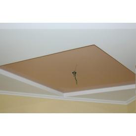 Натяжной потолок глянцевый 0,17 мм коричневый