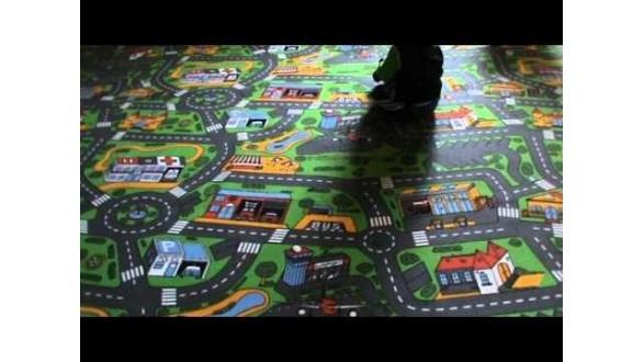 Килимки для дитячої кімнати City Life