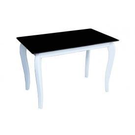 Стеклянный стол Император Белиссимо Sentenzo контраст 1100х640х760 мм