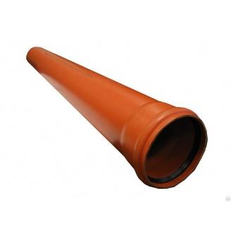 Труба канализационная ПВХ 110x2,7x3000 мм