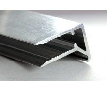 Профиль алюминиевый торцевой АПТ-8 8 мм