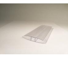 Профиль соединительный неразъемный Polyarc 16 мм прозрачный