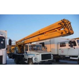 Аренда автовышки Газ-3309 18 м