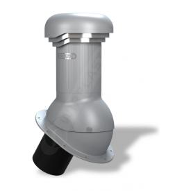 Вентиляционный выход Wirplast Wirovent Normal Pro W05 125x440 мм серый RAL 7046