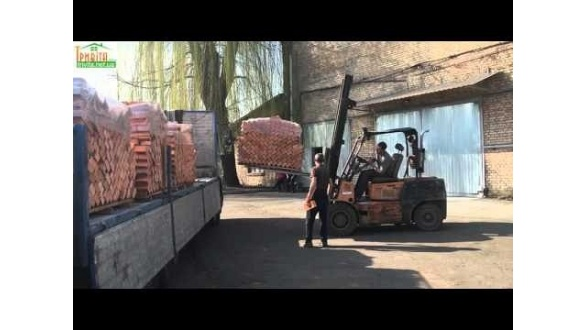 Доставка рядового кирпича со склада в Киеве