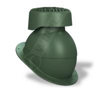 Фановий вихід Wirplast Normal K83 110х265 мм зелений RAL 6020