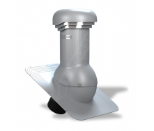 Вентиляционный выход Wirplast Wirovent Standard Pro W02 150x440 мм серый RAL 7046