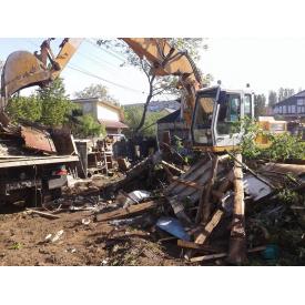 Розчищення ділянки під будівництво