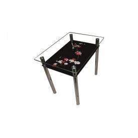 Стеклянный стол Сакура Sentenzo 900х650х750 мм