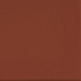 Сходинка кутова клінкерна Cerrad 300х300х11 мм rot