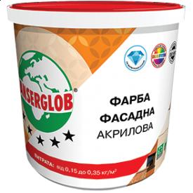 Фарба фасадна акрилова універсальна Anserglob 14 кг