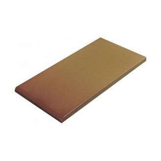 Плитка для парапета Cerrad гладкая 135х245х13 мм miodowy глазурованный