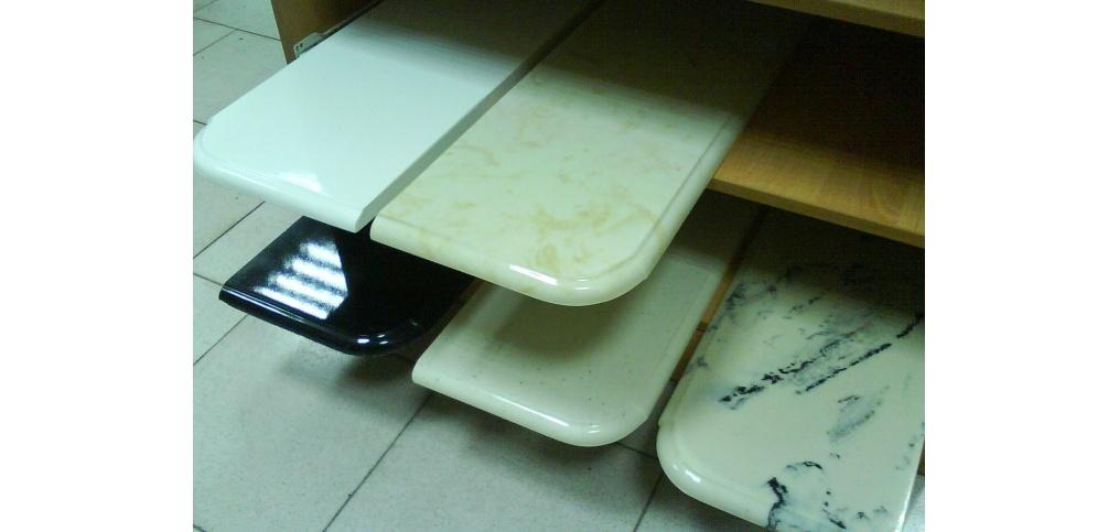 Столешницы подоконники - литой камень мрамор