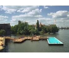 Сбор плавающего бассейна