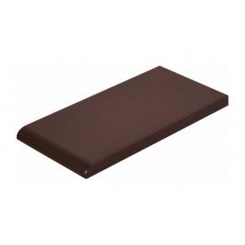 Плитка для парапету Cerrad гладенька 148х300х13 мм braz глазурований
