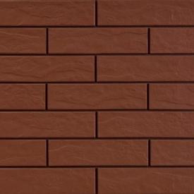 Фасадна плитка Cerrad структурна 245х65х6,5 мм burgund