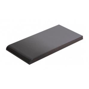 Плитка для парапету Cerrad гладенька 148х300х13 мм grafit глазурований
