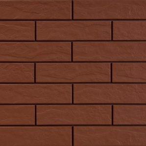 Фасадная плитка Cerrad структурная 245х65х6,5 мм burgund