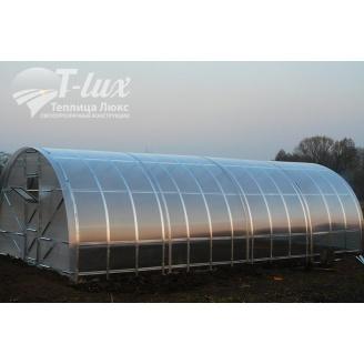 Теплиця збірна Радуга з оцинкованого профілю з полікарбонатом Greenhouse 6 мм 3х4х2 м