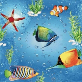 Килим дитячий Море 1 м