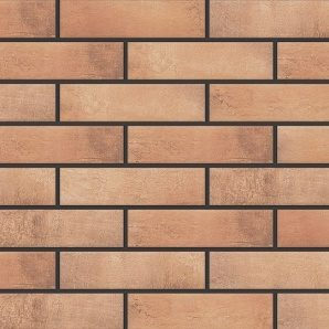 Фасадна плитка Cerrad Loft brick структурна 245х65х8 мм сurry