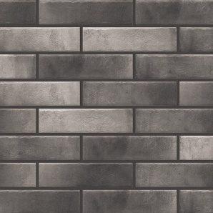 Фасадная плитка Cerrad Retro brick структурная 245х65х8 мм pepper