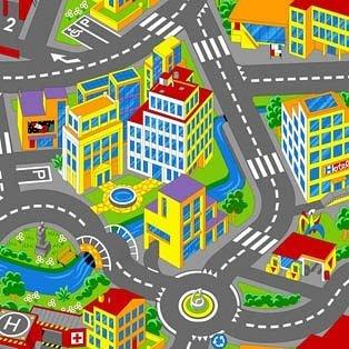 Ковер детский Smart City 97
