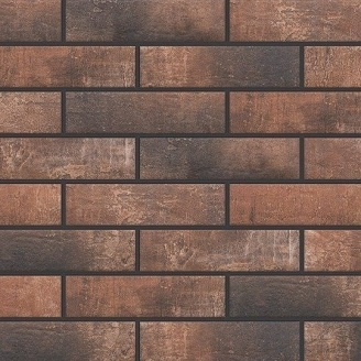 Фасадная плитка Cerrad Loft brick структурная 245х65х8 мм chili