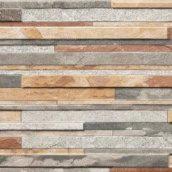 Фасадная плитка Cerrad Zebrina структурная 600x175x9 мм pastel
