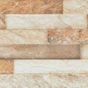 Фасадная плитка Cerrad Kallio структурная 450x150x9 мм amber