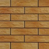 Фасадная плитка Cerrad CER 5 bis структурная 300x74x9 мм dark gobi