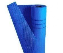 Сетка ВИК БУД стекловолоконная 5х5 мм синий