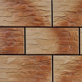 Фасадна плитка Cerrad CER 8 структурна 300x148x9 мм mocca