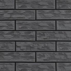 Плитка фасадна Cerrad CER 7 bis структурна 300x74x9 мм steely