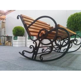 Кресло-качалка Ручная работа XXI Век 2-х местное 800х1000 мм